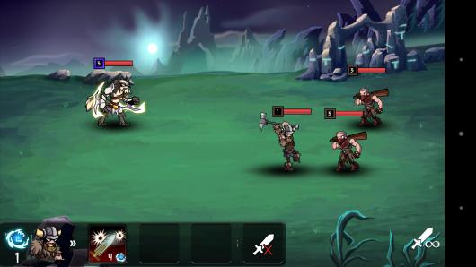 Бой с противником  - HonorBound для Android