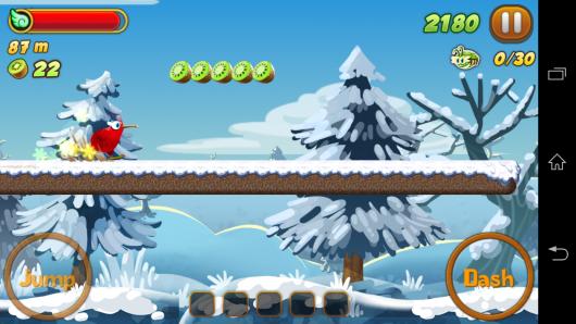 2 уровень - Kiwi Dash для Android
