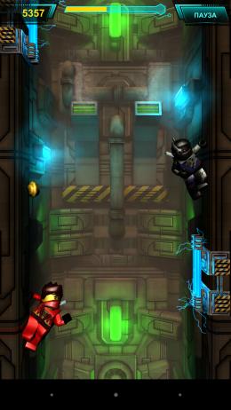 Вертикальный уровень - LEGO Ninjago REBOOTED для Android