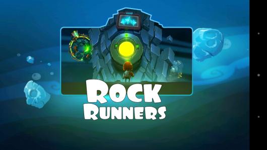 Заставка - Rock Runners для Android