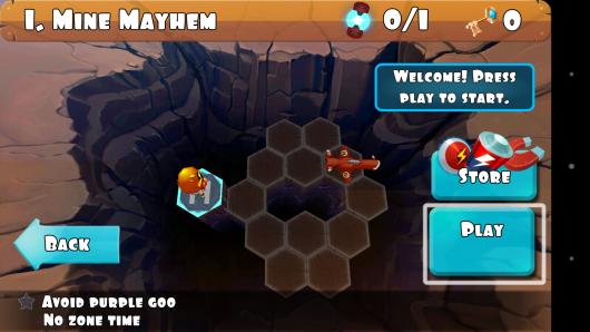 Выбор уровня - Rock Runners для Android