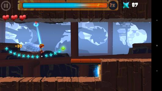 Длинные прыжок - Rock Runners для Android