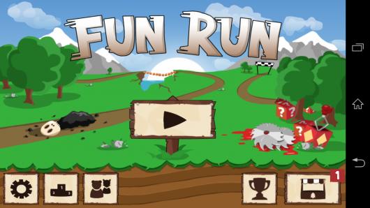 Меню - Fun Run для Android