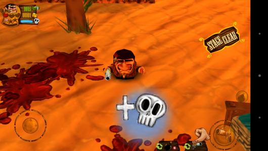 Раненный ковбой - Western Mini Shooter для Android