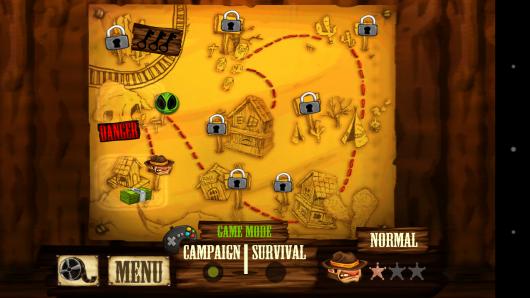 Карта - Western Mini Shooter для Android