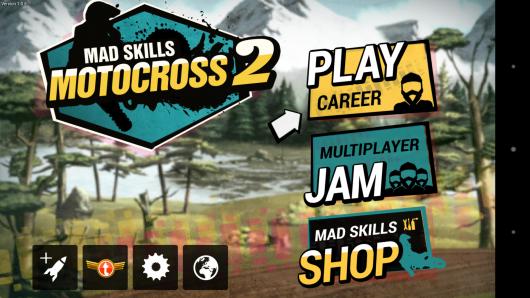 Меню - Mad Skills Motocross 2 для Android