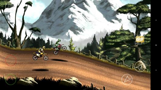 Спуск с холма - Mad Skills Motocross 2 для Android