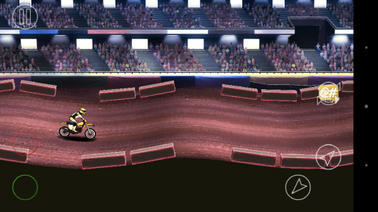Заезд по песку - Mad Skills Motocross 2 для Android