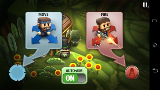 Управление - Minigore 2: Zombies для Android
