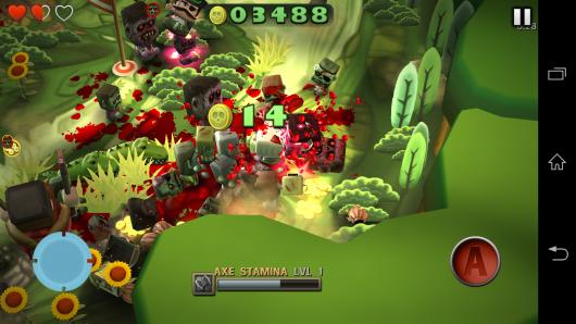 Очки за убийство - Minigore 2: Zombies для Android