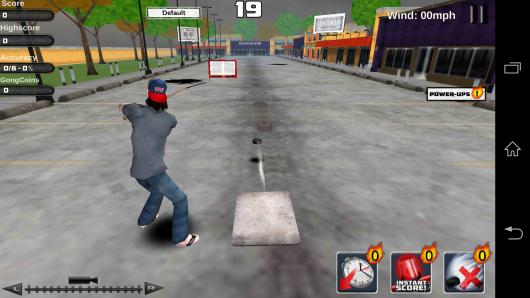 Удар по воротам - Gongshow Saucer King для Android
