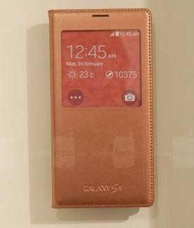 телефон в оранжевом чехле