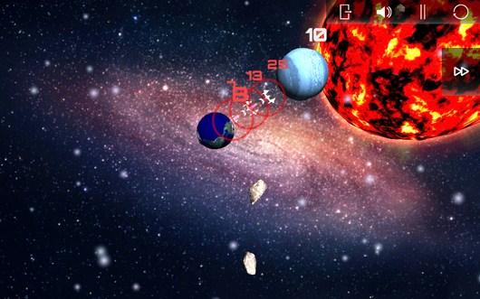 Войска противника надвигаются - SpaceShip Commander для Android