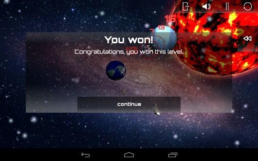 Победа над врагом - SpaceShip Commander для Android