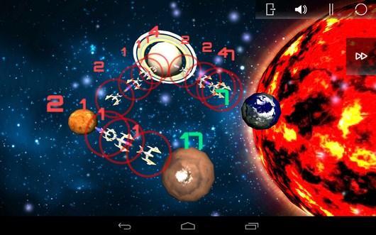 Захват нескольких планет - SpaceShip Commander для Android
