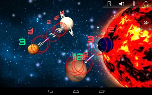 Тактическое сражение - SpaceShip Commander для Android