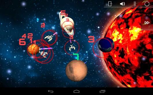 Враг наступает - SpaceShip Commander для Android