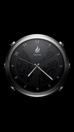 Заставка-ночник приложения Thalion Clock для Android