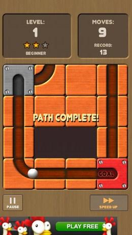 Двингаем блоки в головоломке Unroll Me для Android