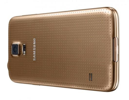 Задняя поверхность Samsung Galaxy S5