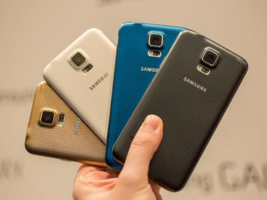 Samsung Galaxy S5 представлен в четырех цветах