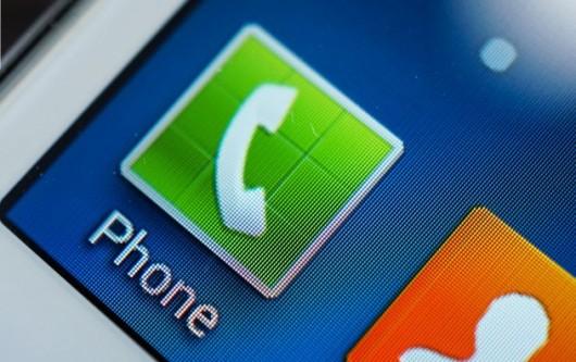 Иконка телефонного звонка на Samsung Galaxy Win