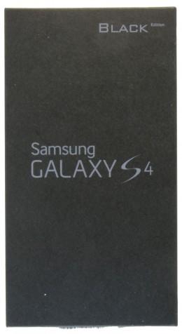 Коробка Galaxy S4 Black Edition