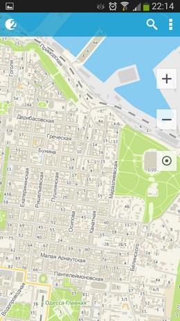 Карта города 2ГИС для Android