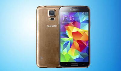 Золотой Galaxy S5