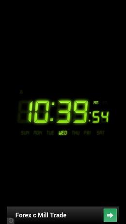Виджет с часами и будильником Alarm Clock Free для Android