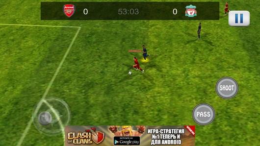 Первый матч - Amazing Football 2014 для Android