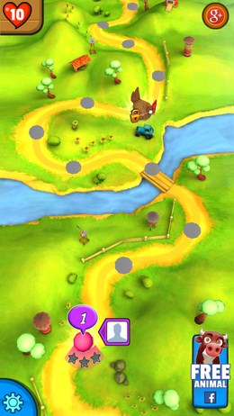 Выбор уровня - Animal Escape для Android