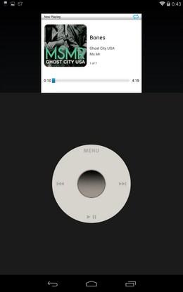 Информация о треке - Apod Classic для Android