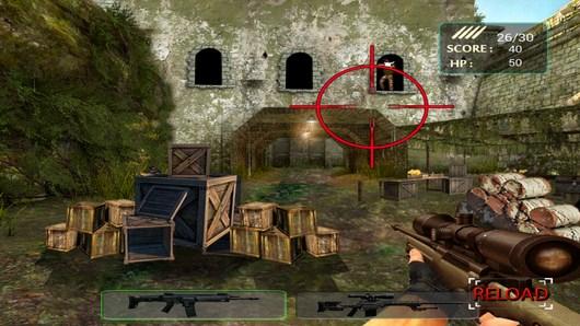 Первое прицеливание - Army Sniper Shooting для Android