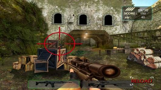 Враг за ящиками - Army Sniper Shooting для Android