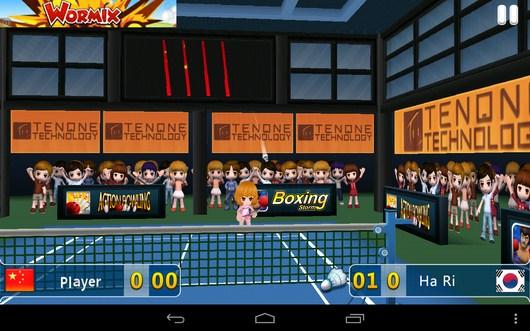 Первое состязание - Badminton League 3D для Android