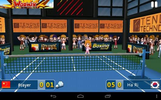 Принимаем подачу - Badminton League 3D для Android