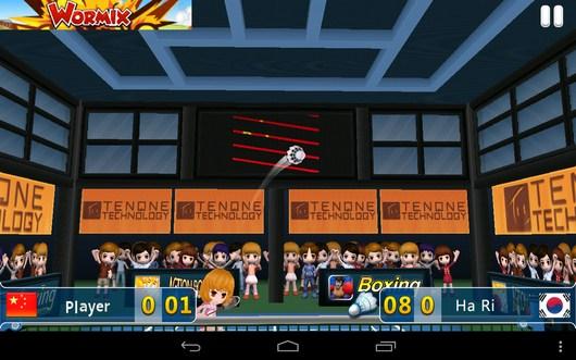 Новая подача соперника - Badminton League 3D для Android