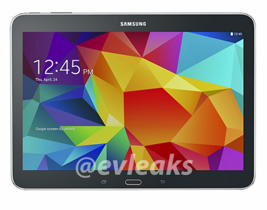Черный Galaxy Tab 10.1