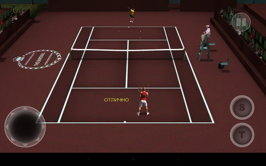 Контратака - Cross Court Tennis 2 для Android