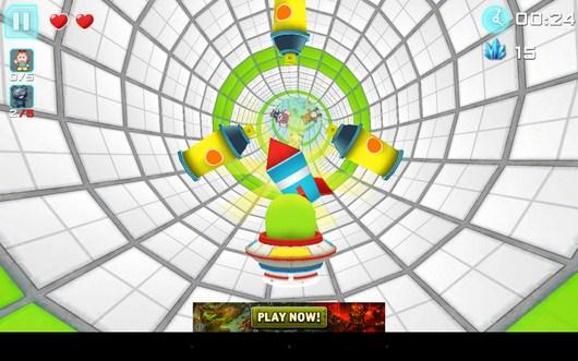 Впереди препятствия - Despicable Baby 3D для Android