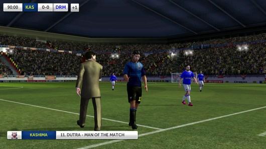 Конец матча - Dream League Soccer для Android