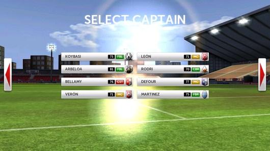 Выбор футбольного клуба - Dream League Soccer для Android