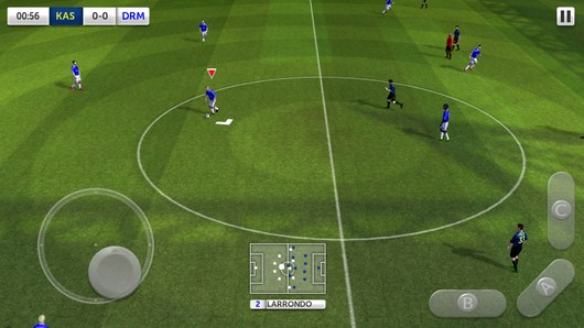 Начало игры - Dream League Soccer для Android