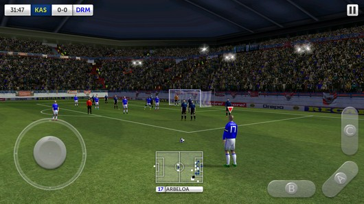 Штрафной удар - Dream League Soccer для Android