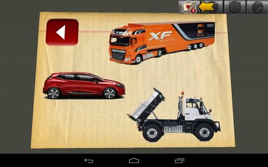Выбор машины - Driving Simulator 3D для Android