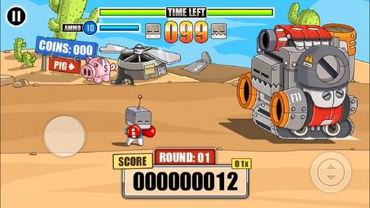 начало поединка - Endless Boss Fight для Android