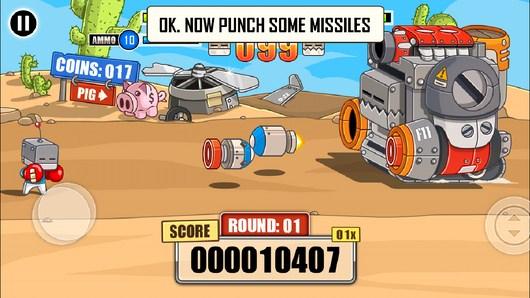 Уворачиваемся от ракет - Endless Boss Fight для Android
