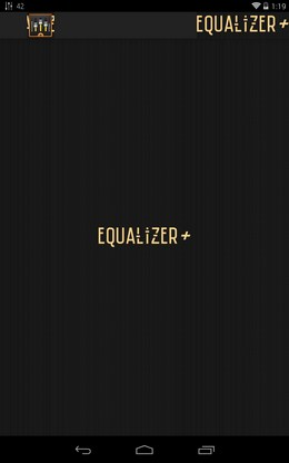 Аудио проигрыватель Equalizer + для Android