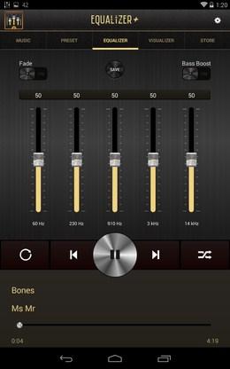Натройка частот - Equalizer + для Android